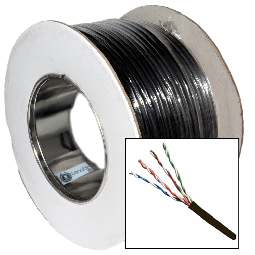 100m external cat 5e network cable for Cat 6 esterno