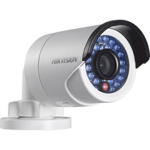 Hikvision DS-2CE16D0T-IR 1080p HDTVI mini bullet camera with a 6mm (54°) lens only