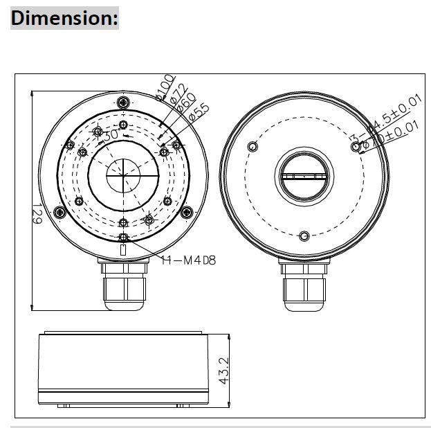 HIKVISION DS-1280ZJ-XS