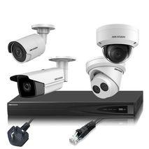Hikvision 6MP Up to 4 Cameras, IP CCTV Kit Builder (4 Channel NVR)