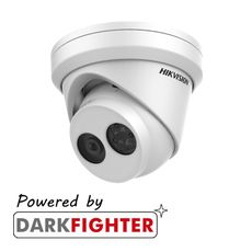Hikvision DS-2CD2345FWD-I 4 MP IR Darkfighter Turret Network Camera (30m IR)