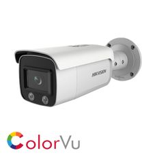 Hikvision ColorVu DS-2CD2T47G1-L IP Bullet camera with fixed lens and full time colour