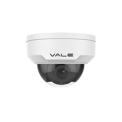 VALE Pro Series - 5 Megapixel IP Vandal Dome Camera + 30m IR (2.8/4mm lens)