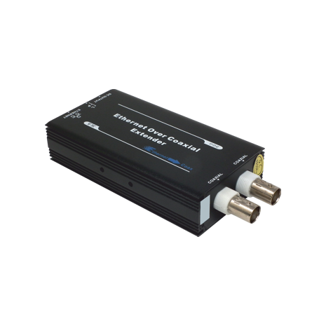 Single Channel Ethernet and Power Receiver Over Single Coaxial Cable DTV-IPCOAX/T