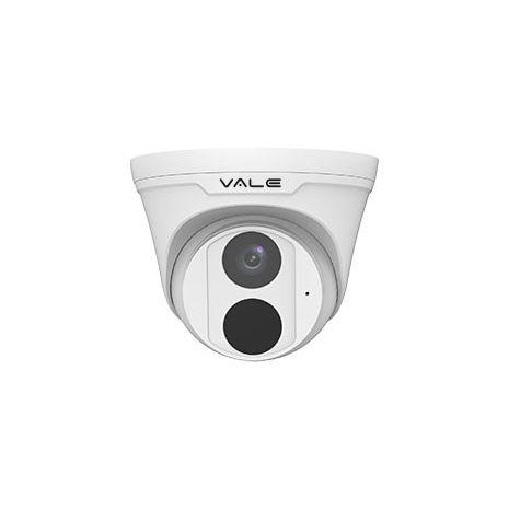 VALE Pro Series - 5MP Starlight IP Turret Dome Camera with inbuilt Mic +  30m IR