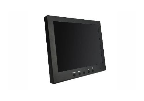 """10.1"""" LED 16:9 Vigilant Vision Monitor with BNC In/Out, VGA, HDMI and Glass Front"""