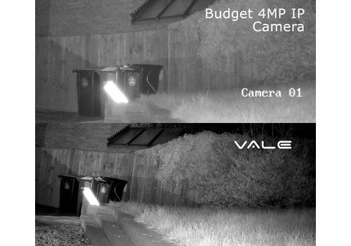VALE Pro Series - 5 MP Starlight IP Vandal Dome Camera + 30m IR