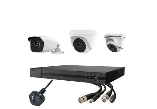Hikvision HiLook 2MP Low Light 16 Channel Turbo Analogue HD CCTV Kit Builder (HD-TVI)