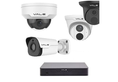 Vale Pro Series - 5MP Up to 8 Camera, IP CCTV Kit Builder with Super Starlight Sensors
