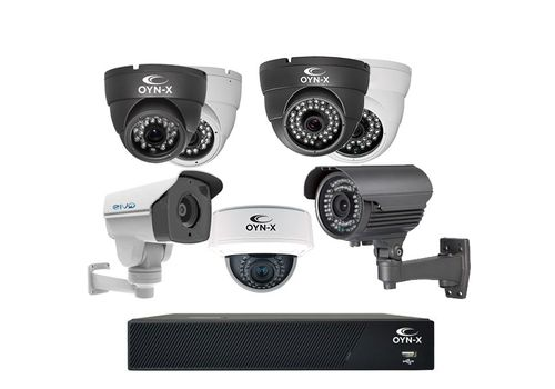 OYN-X 5-8 Cam (HD-TVI) Kit Builder - 2MP/1080N
