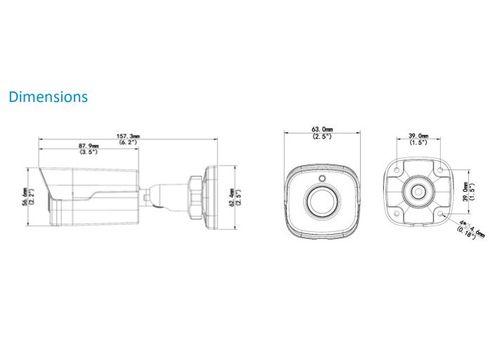 VALE Pro Series - 5 MP Starlight IP Mini Bullet Camera with inbuilt Mic + 30m IR