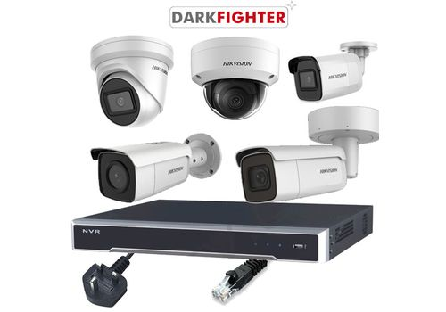 Hikvision 8MP DarkFighter 8 Channel IP CCTV Kit Builder