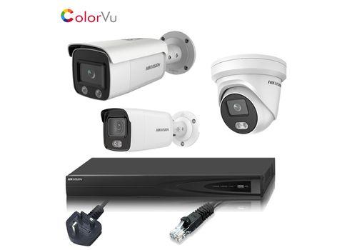 Hikvision 4MP ColorVu 4 Channel IP CCTV Kit