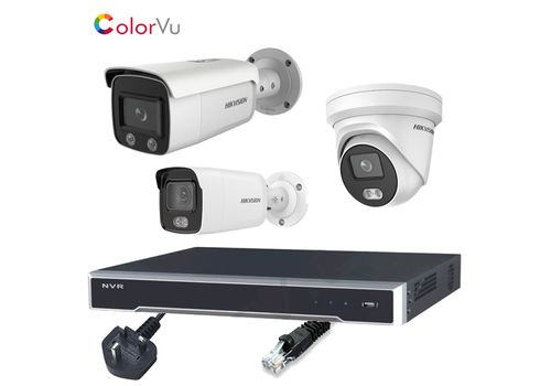 Hikvision 4MP ColorVu 16 Channel IP CCTV Kit