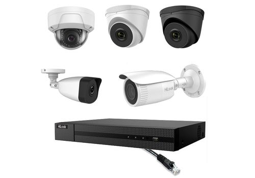 Hilook by Hikvision - 5MP 4 Channel IP CCTV Camera Kit Builder