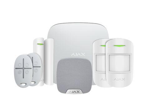Ajax Kit 2 Plus - Apartment with keyfobs